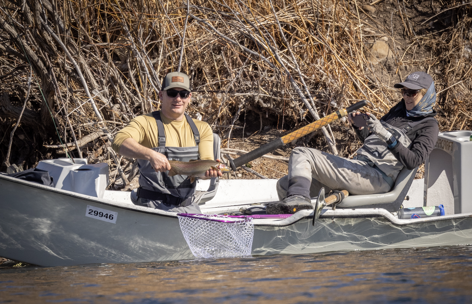 Watch a Warrior Fishing Experience in Paradise Valley