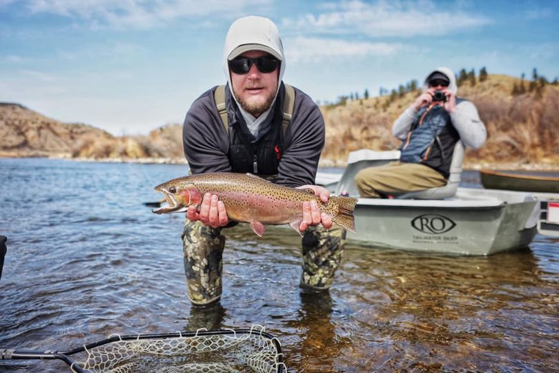 Watch a Warrior Fishing Experience on the Missouri River