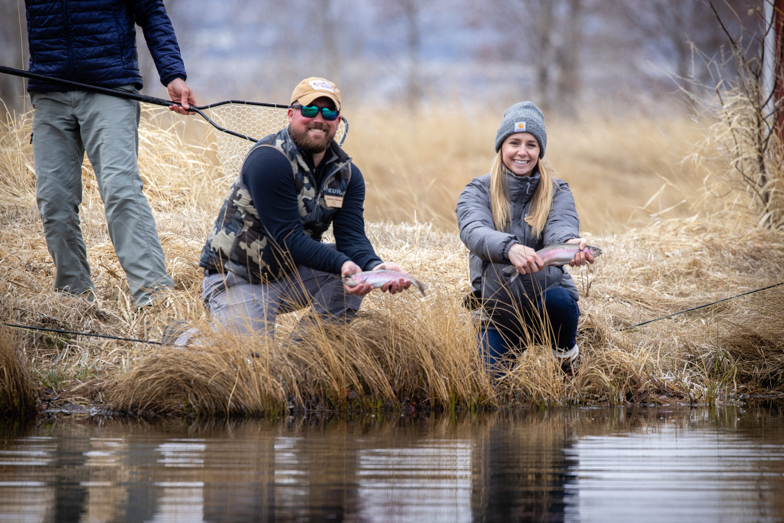 Watch a Veteran and Spouse Fishing Experience