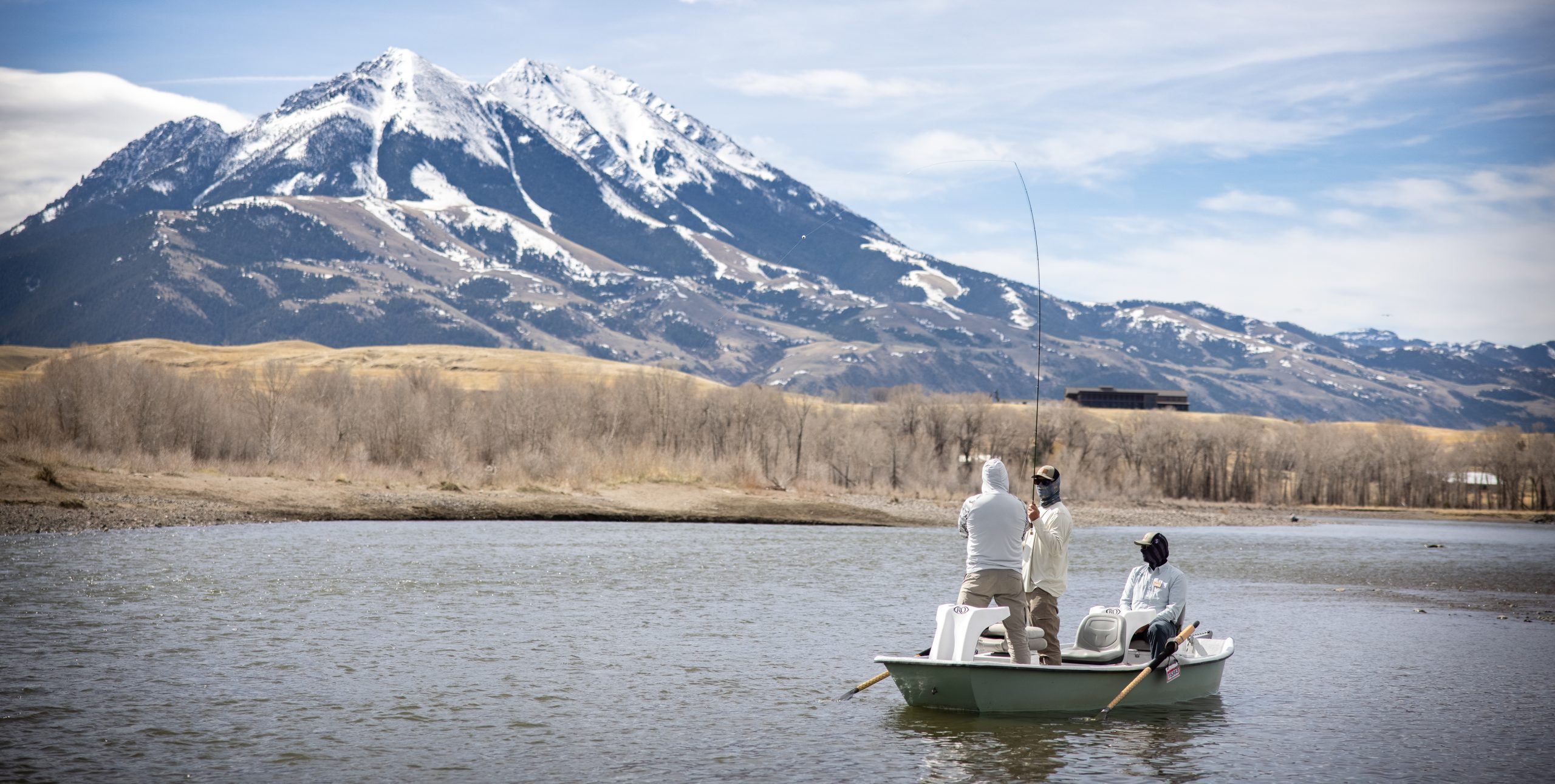 Watch a Veteran Fishing Experience on the Yellowstone River